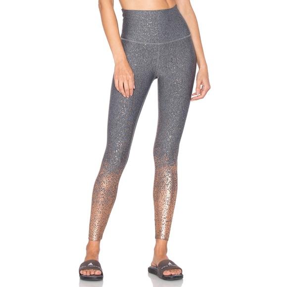 49fd210cae406 Beyond Yoga Pants | Alloy Ombre Metallic Leggings Xs | Poshmark